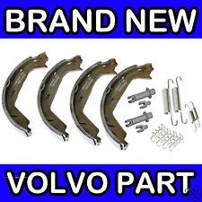Volvo S60, S80, V70 (00-09) Rear Handbrake Brake Shoe Kit (With Adjusters)