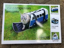 V W Campervan Per Carrier Ideal For Small Dogs And Cats Lightweight /Mesh Window