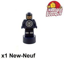 Lego - Figurine Minifig Super Heroes SHIELD Agent Statuette 90398pb006 NEUF