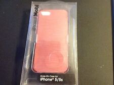 iPhone 5/5s Snap on Case Iridescent Pink Brand New