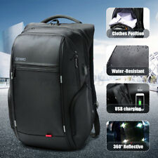 Waterproof Laptop Rucksack USB Charge Computer Backpack School Travel Bag