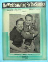WORLD IS WAITING FOR SUNRISE AS RECORDED BY LES PAUL & MARY FORD VINTAGE SHEET