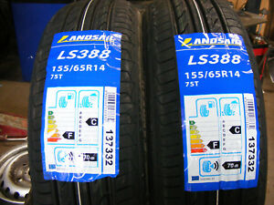 155 65 R14 BRAND NEW AND INCLUDES FITTING LANDSAIL LS388 TYRES