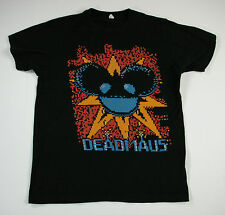 Deadmau5 Pixel 8-Bit Black T-Shirt Men's Size Medium M