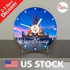 Disney CD clock Disney home decor Disney art gift home Ships from USA