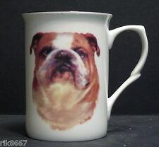 Bulldog (Head BF) Fine Bone China Mug Cup Beaker