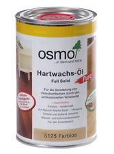 Osmo Hartwachs-Öl Pure 5125 farblos, 1,0 Liter Gebinde