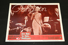 1966 See You In Hell Darling Lobby Card #1 Stuart Whitman 66/299 (C-6)