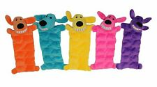 Multipet Loofa Squeaker Mat Soft Plush Squeaker Toy for Dogs 12 inches