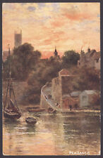 """Cornish Views"" Penzance. Sent to Miss Ivey, Titchfield, Nr Fareham, Hants. 1906"