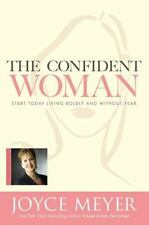 The Confident Woman a Christian Hardcover book by Joyce Meyer FREE SHIPPING