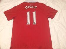 "Manchester United 2010-11 (Giggs 11) AON Medium 40"" Chest Football Shirt Jersey"