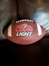Coors Light Full Size Baden Football Beer Man Cave
