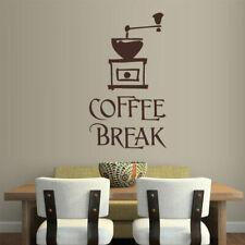Wall Vinyl Sticker Kitchen Decal Coffee Break Decal (Z1129)