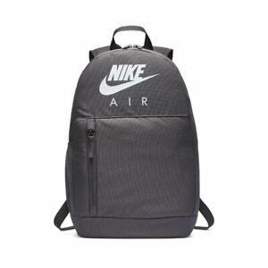 Kids Nike Elemental Gym School Training Backpack BA6032 082 Grey/White 20L