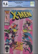 Uncanny X-Men #208 CGC 9.6 1986 Marvel Nimrod, Hellfire Club App: NEW FRAME