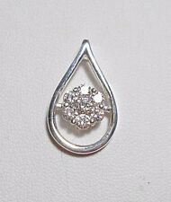 925 St Silver pendant made with Swarovski crystals 25mm x 15mm