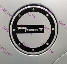 Transformers Car Fuel Gas Tank Cap Stickers Adhesive Graphic Decal Vinyl (Black)