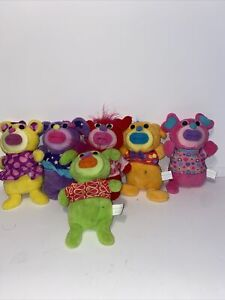 """Sing-A-Ma-Ling Where Oh Where Has My Little Dog Gone Plush Singing 9"""" Set Of 6"""
