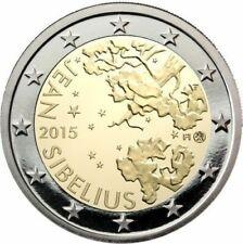 2 € COMMEMORATIVE - UNC - FINLANDE 2015 - J SIBELIUS