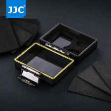 JJC 2-in-1 Battery & MicroSD SD Card Storage Case for Sony Canon Nikon Fujifilm