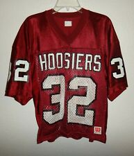 New Mens Xl Vintage Wilson Indiana Hoosiers Football Game Jersey Mesh #32