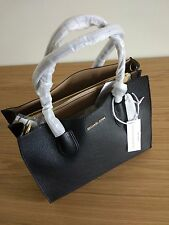 Michael Kors  -  Mercer Large Leather Tote - Black Colour