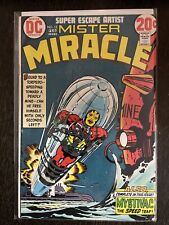 MISTER MIRACLE #12 (Jack Kirby cover)DC Comics 1973 High Grade New Gods Movie