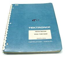 Service Manual Tektronix 7B53A / 7B53AN Time Base, 7000er Oszilloskop