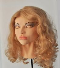 Female Mask Cindy Diva Latex Cosplay Masks!  With Wig