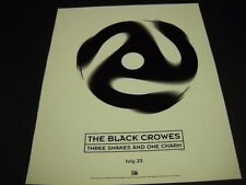 Black Crowes Three Snake. is coming on July 23, 1996 Promo Poster Ad mint