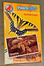 A+ Discover Insects and Small Creatures Flash Cards-36-Nib