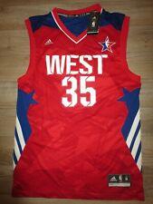 Kevin Durant #35 Oklahoma Ciudad Thunder NBA Todo Star Adidas Camiseta M M Nuevo