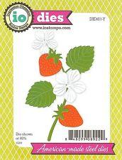 Strawberry Blossom Set Die Cutting Dies Set IMPRESSION OBSESSION DIE401-Y New