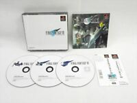 PS1 FINAL FANTASY VII 7 with SPINE CARD * FF7 Playstation PS Japan Game p1