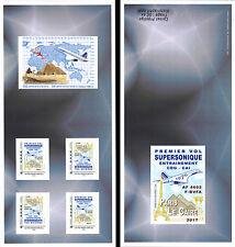 "COLLECTOR Booklet ""AF Concorde 1976 1st flight training Paris-Cairo"" 2017 TYPE 2"