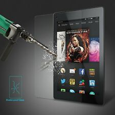 """PREMIUM Tempered Glass Screen Protector for Amazon Kindle Fire  hd  8"""" 2015"""