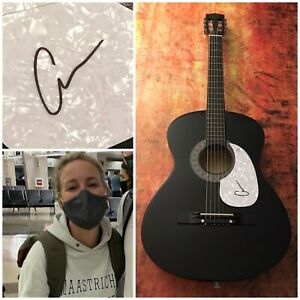 GFA Classic & Burning House Country Star CAM Signed Acoustic Guitar C1 COA