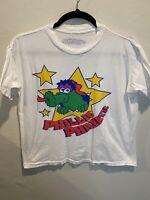Vintage Phllie Phantic Tastykake White Tshirt Size Large Philadelphia Phillies