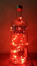ABSOLUTE VODKA LIGHT UP BOTTLE LAMP