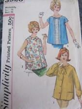 VINTAGE SIMPLICITY SEWING PATTERN MATERNITY TOP SZ 16 CLASSIC BUST 36