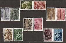"""YUGOSLAVIA 1956 #776-787 xfu """"YUGOSLAVIAN ART"""" E013-b"""