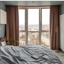 Velvet Drapes flannel modern Block bedroom window cloth blackout curtain