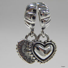 New Authentic Pandora Charm My Special Sister Heart Bead 791383 W Suede Pouch