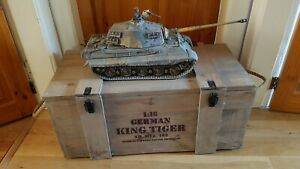 Forces Of Valor Limited Edition 1/16 German King Tiger Sd. Kfz. 182 502nd SS