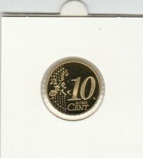 Duitsland 2002 PP 10 cent letter F Proof
