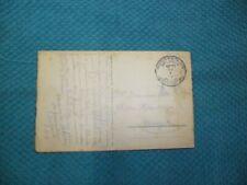 Carte postale oblitérée par postes militaires Belgique en 1919 état voir photos