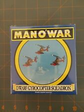 Citadel Miniature Mano'War Dwarf Gyrocopter Squadron new/sealed