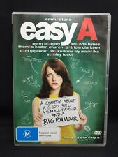 Easy A Emma Stone DVD R4 Rated M