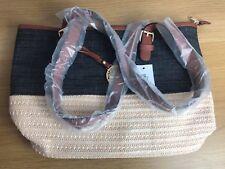 Large Women casual vintage beach straw shoulder bag